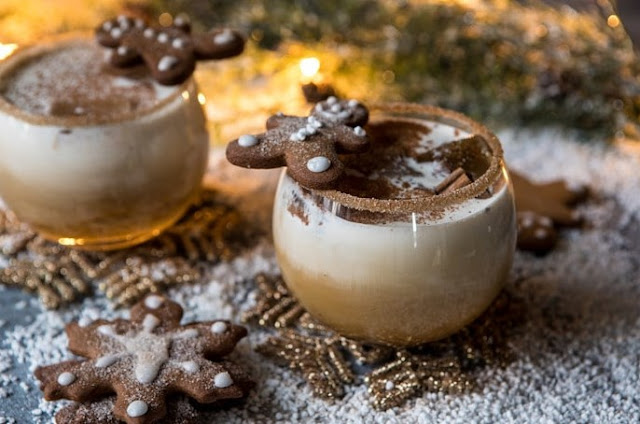 Gingerbread White Russian #drinks #alcohol