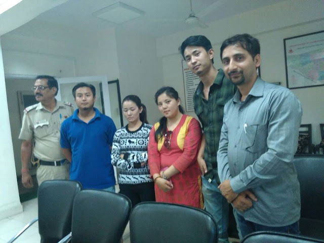 Darjeeling and North East Gorkha youths come together to rescue a girl in Delhi