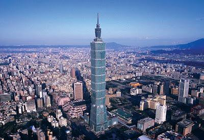Taipei 101 en Taiwán