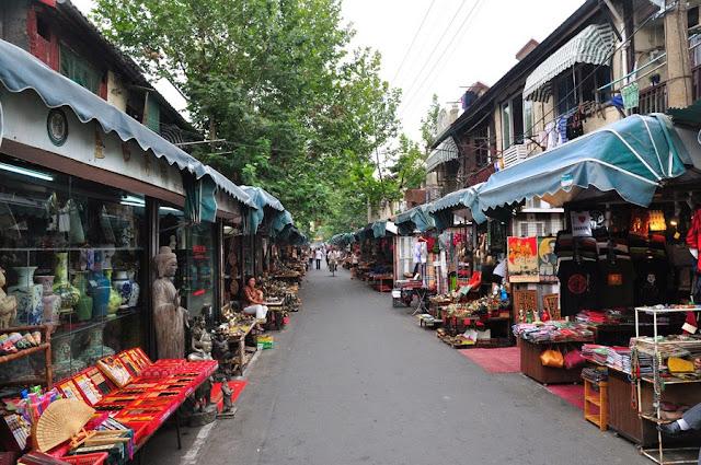 Resultado de imagem para Mercado Dongtaii shanghai