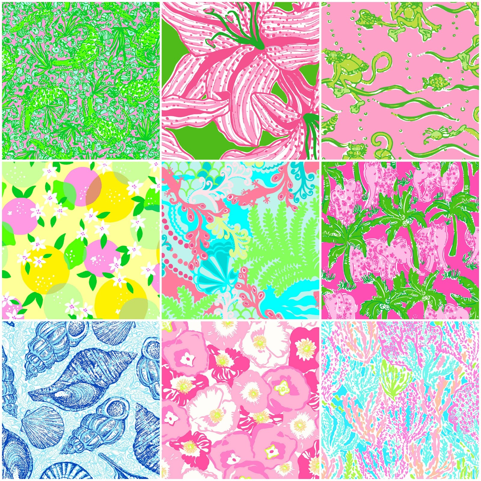 Relatively Sweet Tea Jubilee: Most Popular Lilly Pulitzer Prints JQ42