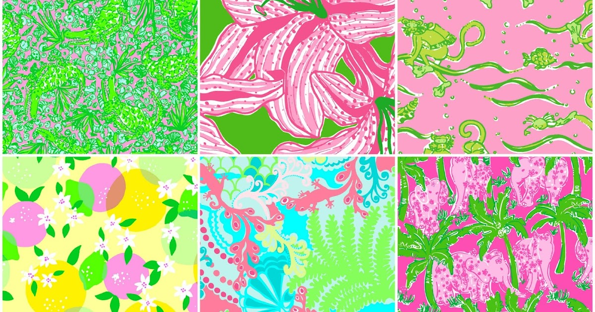 Fresh Sweet Tea Jubilee: Most Popular Lilly Pulitzer Prints GZ21