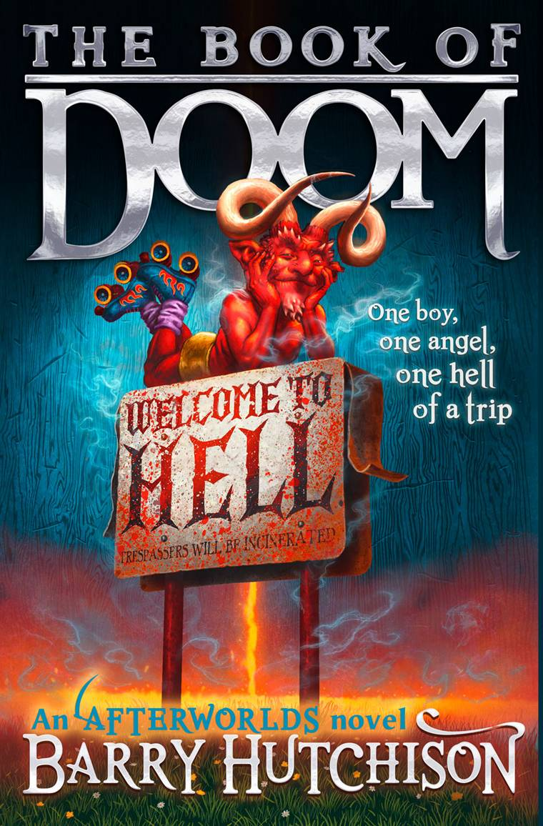 Food Book Cover Zone : The book zone news cover for of doom by