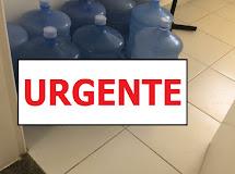 Dona Inês/PB: Denuncia de uso de água do Cajueiro em filtros de repartições