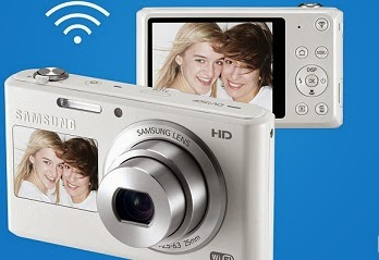 Samsung DV150F 16.2MP Smart WiFi Digital Camera with 4GB Card, Camera Case worth Rs.9990 for Rs.6499 Only @ Amazon