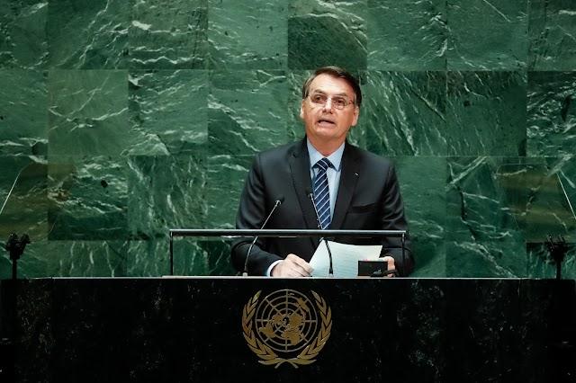 BOLSONARO DISCURSA NA ONU. VEJA VÍDEO