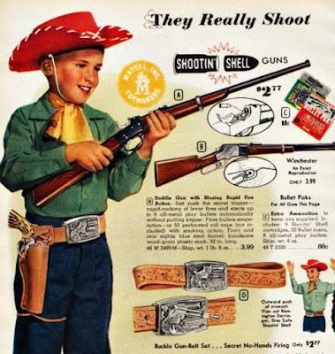Mattel Shootin Shell Guns