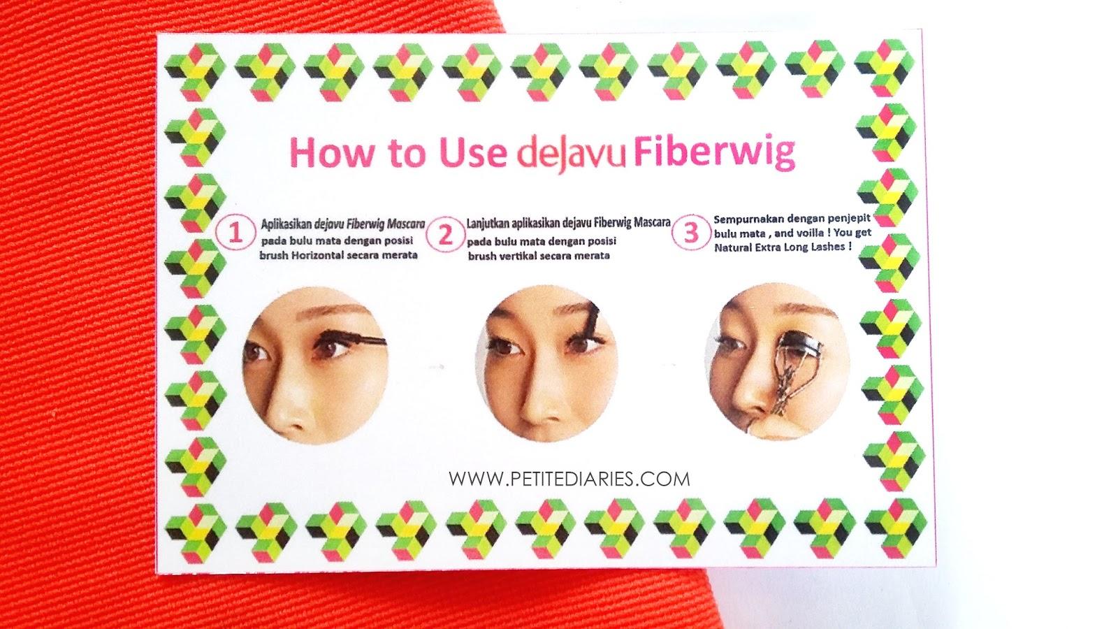 dejavu fiberwig mascara
