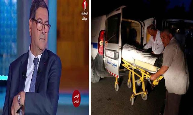 Habib Essid victime d'un malaise, lors d'une émission en direct sur Al-Wataniya