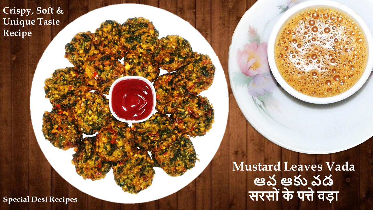 mustard leaves special desi recipes