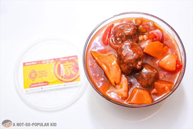 Ahma's Meatballs w/ Sweet and Sour Sauce