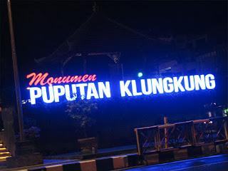 Monumen Puputan Klungkung, Tempat Nongkrong Malam Hari di Bali