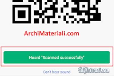 menggunakan cctv xiaomi xiaofang scan barcode