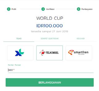Nonton TV Online Piala Dunia 2018 di Rusia Dengan Klik TV di Laptop Atau Android