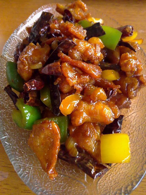 Dapur Berasap Ayam Kung Pao Simple