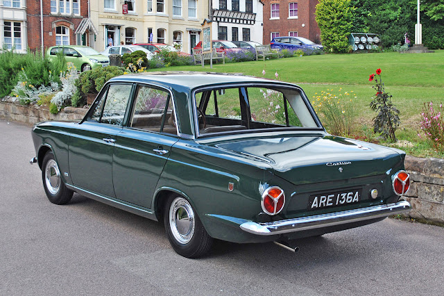 Green Goddness: 1963 Ford Cortina
