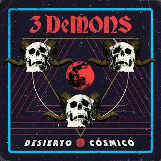 """3DEMONS debut EP """"Desierto Cósmico"""""""