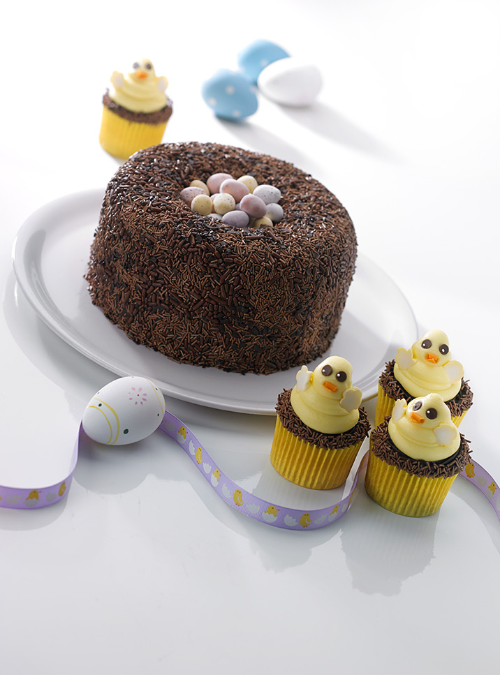Easter Chocolate Nest Cake And How To Make One