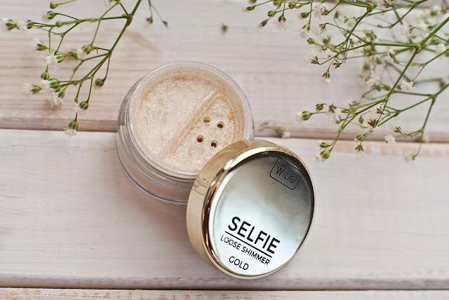 Wibo, Selfie Loose Shimmer, rozświetlacz, Gold