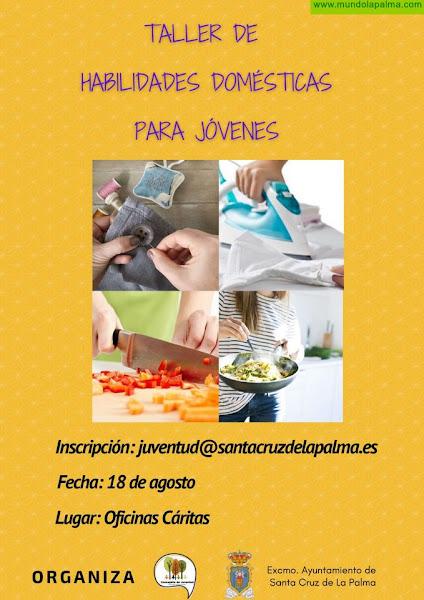 El Ayuntamiento impulsa un taller de tareas domésticas para formar a la juventud