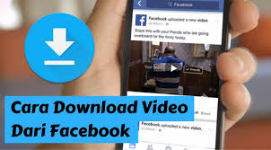 Cara Download Video Di Facebook tanpa Aplikasi Lewat Android Dan PC