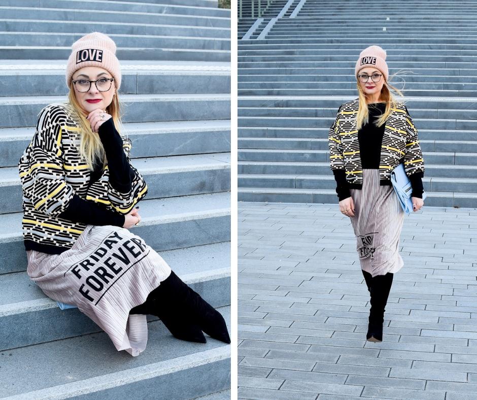 Warme Röcke für den Winter. Modeblog für Frauen ab 40