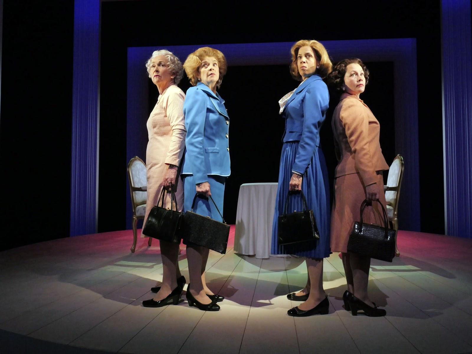 Handbagged By Moira Buffini Theatre The Lake