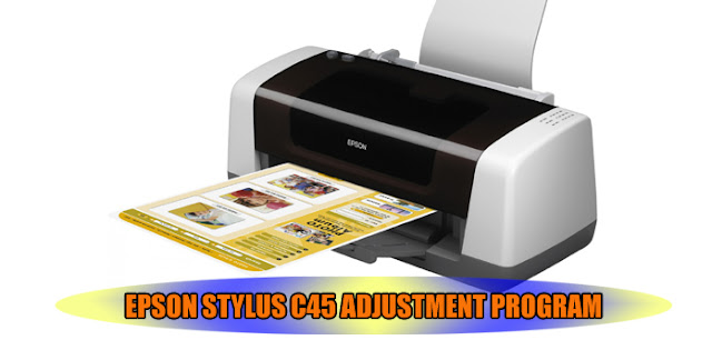 Epson Stylus C45 Printer Adjustment Program