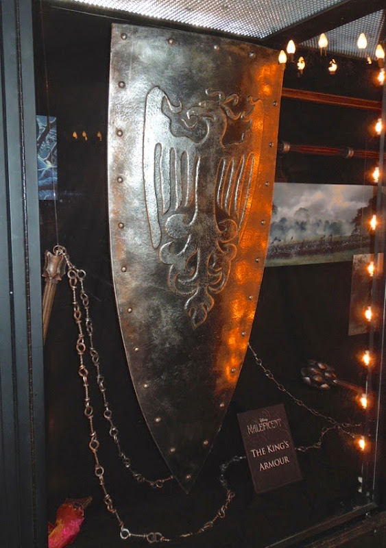 Maleficent Kings shield movie prop