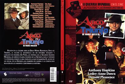 Carátula dvd: Arco de Triunfo (TV) (1984) Arch of Triumph