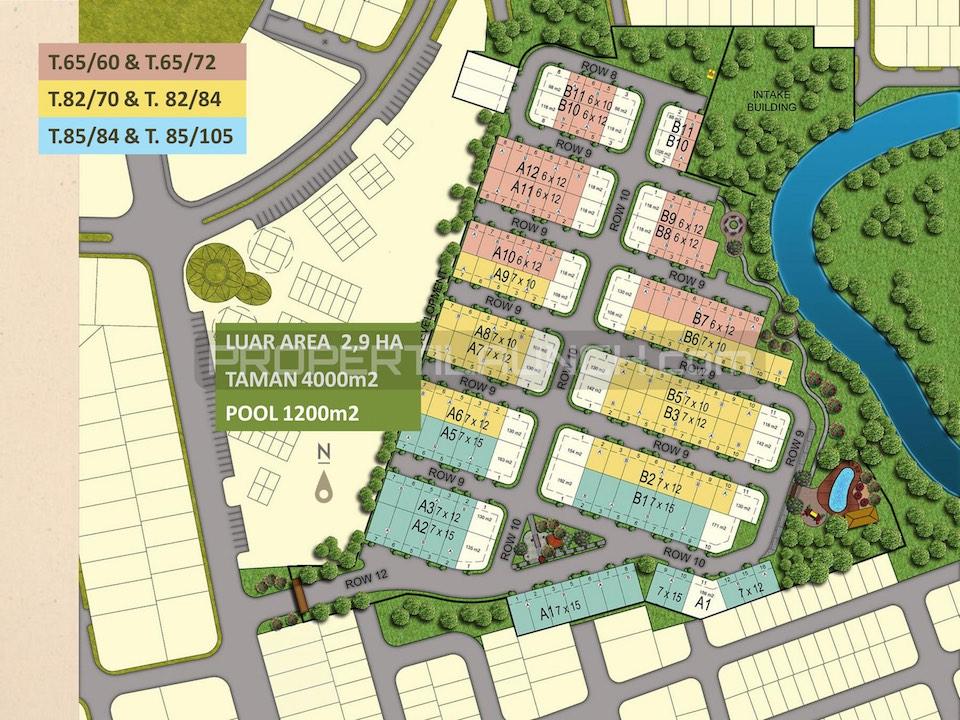 Master Plan Kireina Park BSD City