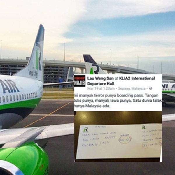 Boarding Pass Tulis Tangan, Rayani Air Tampil Bagi Penjelasan Sebenar Yang Mengejutkan!