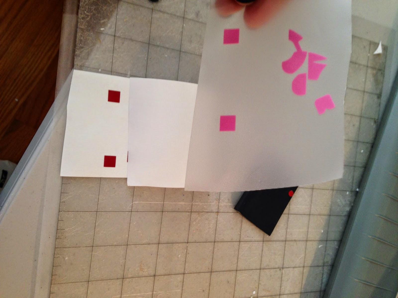 Silhouette tutorial, Silhouette Studio, HTV, vinyl, paper, knockout design, transfer paper