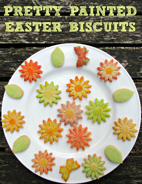 Painted Easter Biscuits