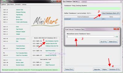 Download MiniMart Aplikasi Stok Barang Sederhana Bahasa Indonesia Gratis Full Version Untuk Semua Usaha