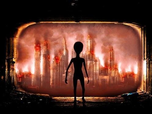 """Trasformazione del pianeta Terra per l'arrivo degli  """"Extraterrestri"""