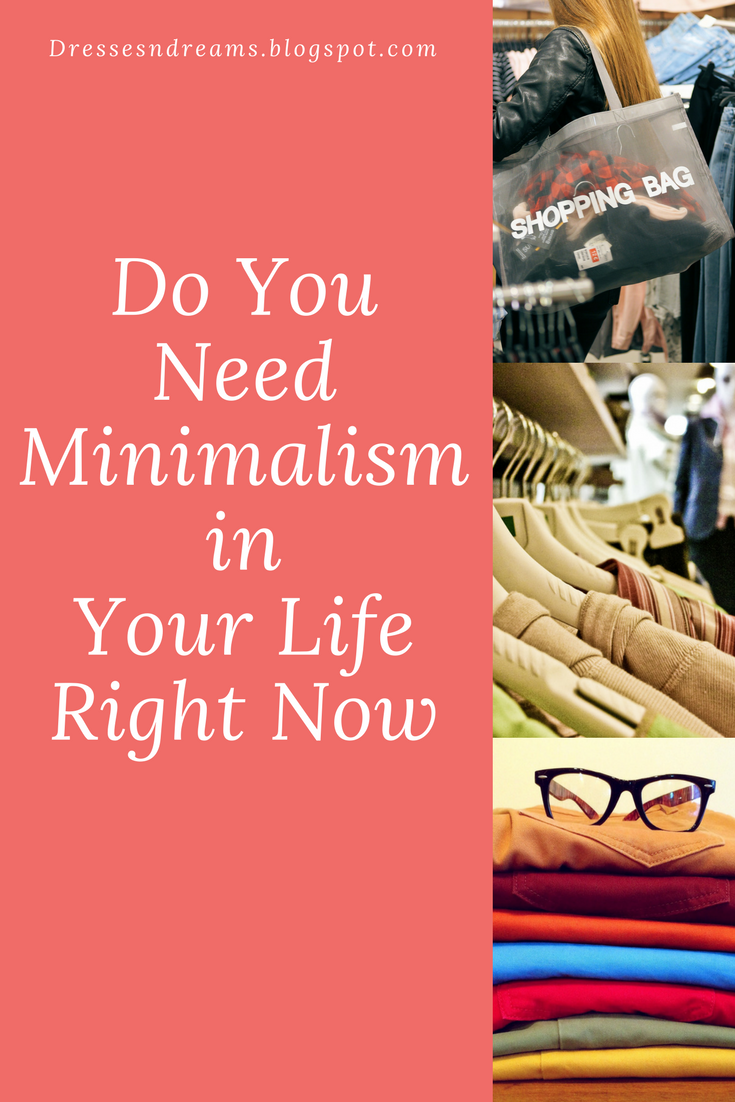 minimalism, shopping addiction