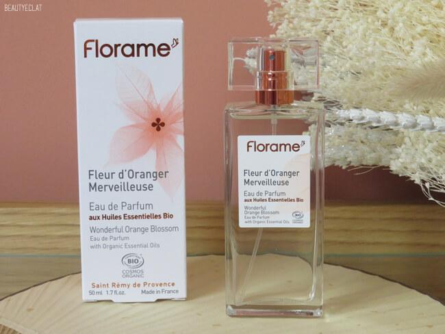 avis florame eau de parfum fleur d'oranger
