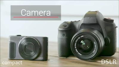 kamera compact dslr
