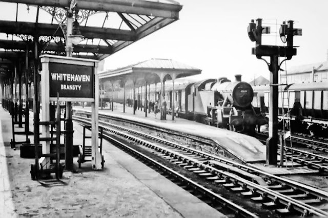 Bransty Railway Station, Whitehaven