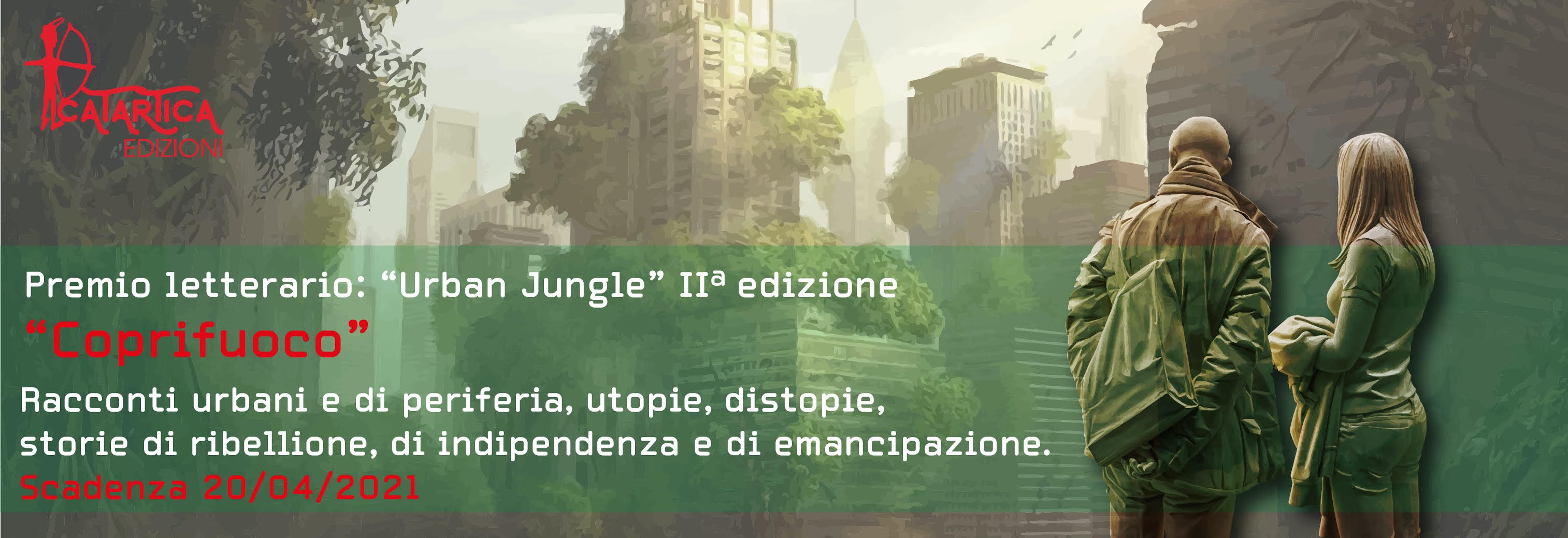 "Indielibri presenta la seconda edizione del Premio ""Urban Jungle"""