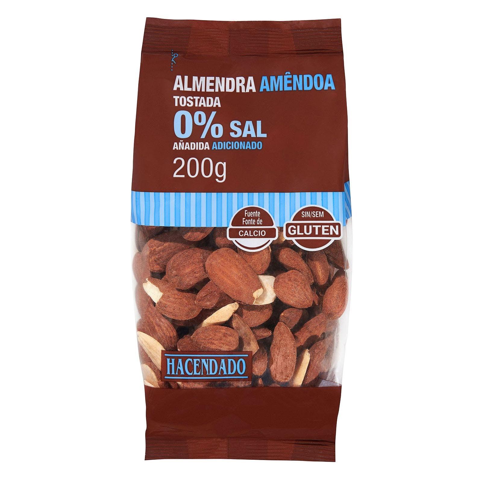 Productos Mercadona Almendra Tostada Sin Sal Hacendado