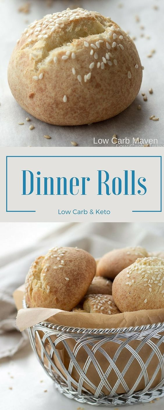 Easy Low Carb Roll Recípe wíth Fathead Dough