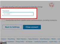 how to delete linkedin premium account