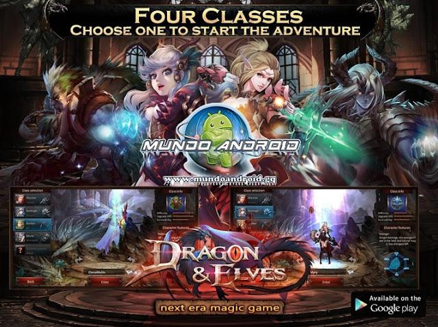 Jugabilidad de Dragon & Elves