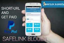 Shortlink penghasil uang Safelink blogger || trusted dan legit