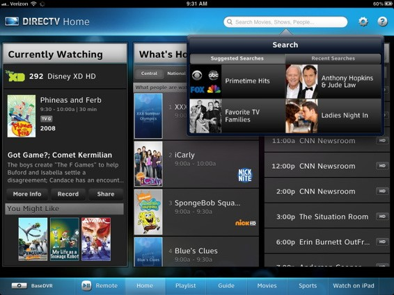 DirecTV's iPad app is mindblowingly good  | All Apple All Day