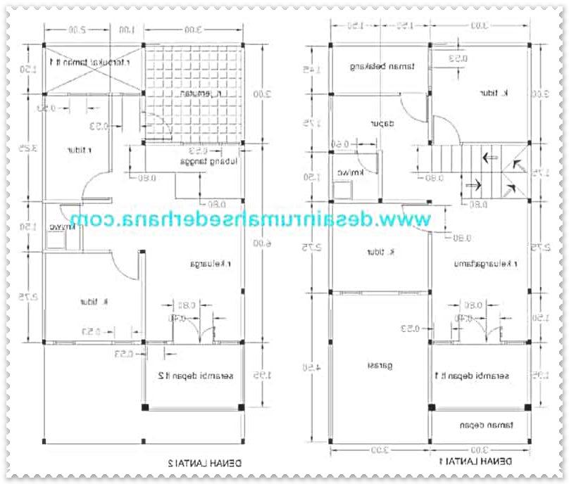 gambar konsep rumah minimalis type 21