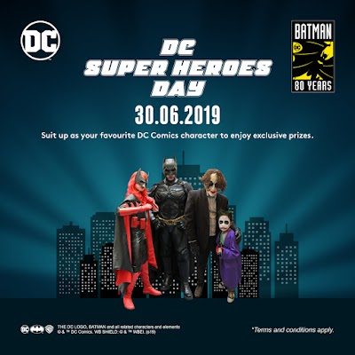 DC Superheroes Day at Resort World Genting