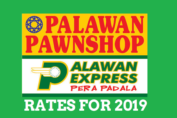 Palawan Express Pera Padala Rates for 2020